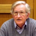 American antiwar activist and author Noam Chomsky