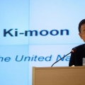 Ban Ki Moon the Secretary General of the United Nations