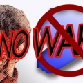 "Alliance of Elite for Slogan: ""No to War"""