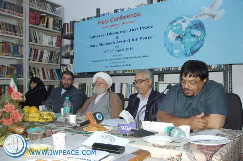"Second Regional Conference on ""Just Peace, Common Global Dialogue"", India"