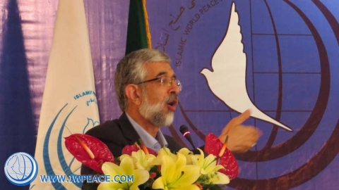 Dr.Haddad Adel in seminar on just peace in global system