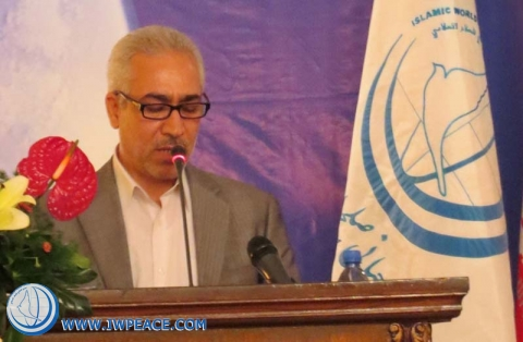 Dr. Davud Ameri  in seminar on just peace in global system